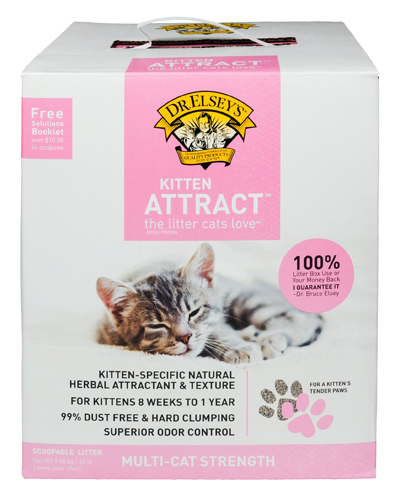 Picture of Dr. Elsey's Kitten Attract Litter - 20 lb.