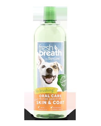Picture of Tropiclean Fresh Breath + Skin & Coat Water Addditive - 33.8 oz