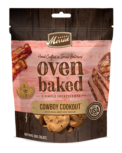 Picture of Merrick Kitchen Bites Grain Free Oven-Baked Cowboy Cookout  with Beef, Potatoes, and Carrots - 9 oz.