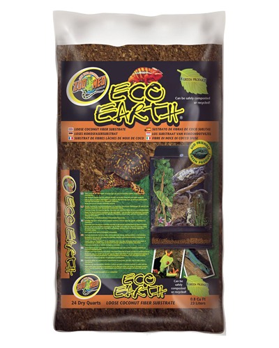 Picture of ZooMed Labs Eco Earth Coconut Fiber Substrate - 24 qt.