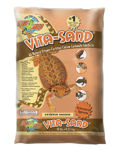 Picture of ZooMed Labs Vita-Sand Outback Orange - 10 lb.