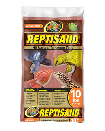 Picture of ZooMed Labs ReptiSand Natural Red - 10 lb.