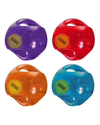 "Picture of KONG Jumbler Ball Large/X-Large - 7"" Assorted Colors"