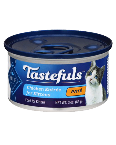 Picture of Blue Buffalo Healthy Gourmet Chicken Entrée for Kittens - 3 oz.