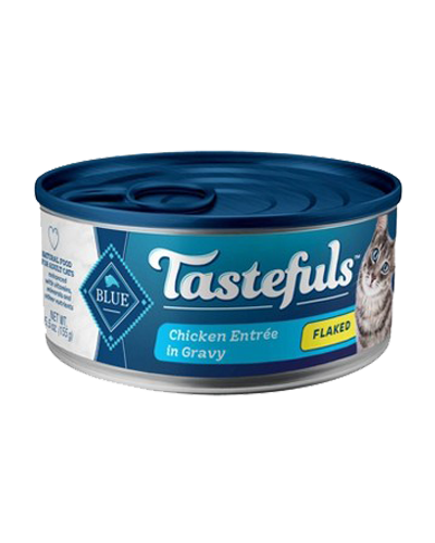 Picture of Blue Buffalo Healthy Gourmet Flaked Chicken Entrée - 5.5 oz.