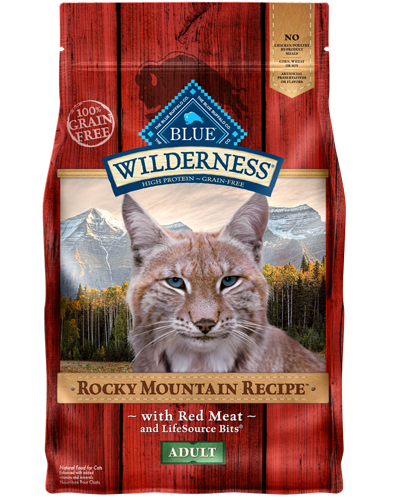 Picture of Blue Buffalo Wilderness Rocky Mountain Recipe Red Meat - 4 lb.