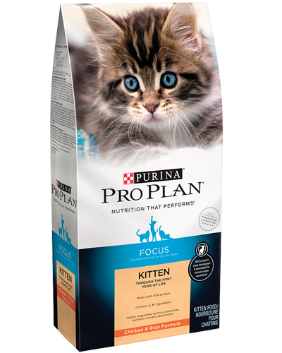 Picture of Purina Pro Plan Focus Kitten Chicken & Rice - 3.5 lbs.