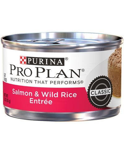 Picture of Purina Pro Plan Savor Adult Salmon & Wild Rice Entrée in Sauce - 3 oz.