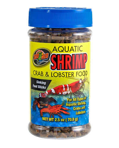 Picture of ZooMed Labs Aquatic Shrimp, Crab and Lobster Food - 2.5 oz.