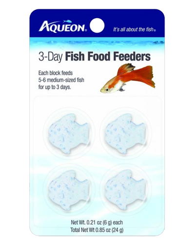 Picture of Aqueon 3 Day Vacation Fish Food Feeders - 4 Pack