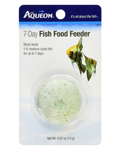 Picture of Aqueon 7 Day Vacation Fish Food Feeder - .67 oz.
