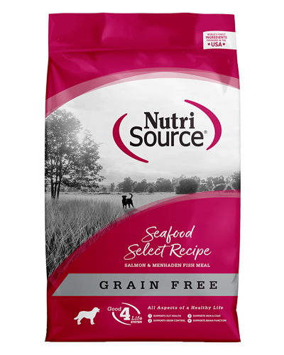 Picture of Nutrisource Grain Free Seafood Select Recipe - 15 lbs.