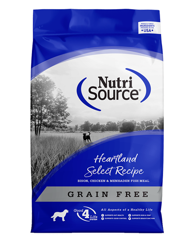 Picture of Nutrisource Grain Free Heartland Select with Bison - 5 lbs.