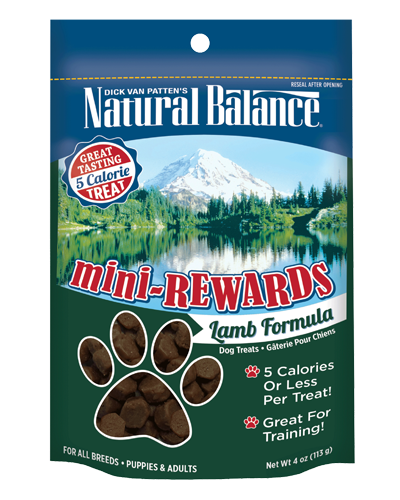 Picture of Natural Balance Mini-Rewards Lamb Formula - 4 oz.