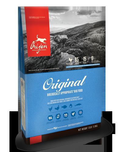 Picture of Orijen Grain Free Adult Original Formula with Free-Run Chicken and Turkey - 13 lbs.