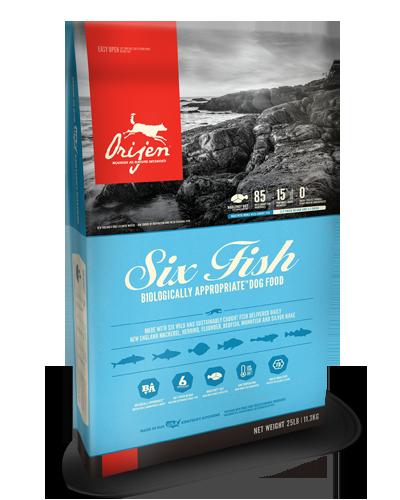 Picture of Orijen Grain Free Six Fish Formula - 25 lbs.