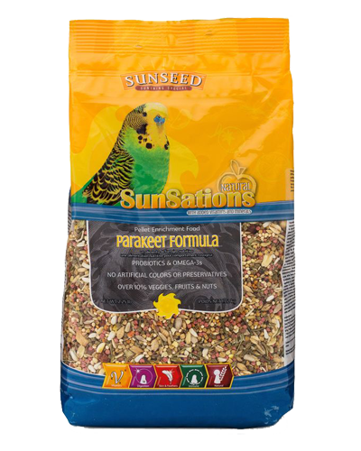 Picture of Sunseed SunSations for Parakeets - 2.5 lb.