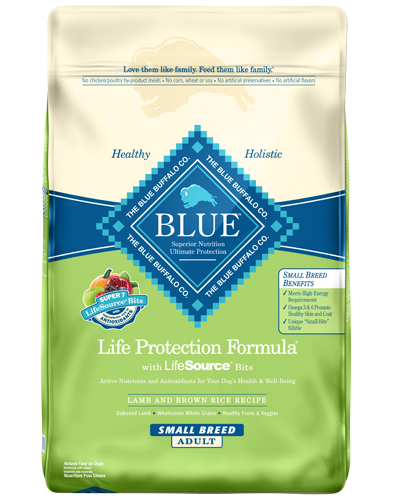 Picture of Blue Buffalo Life Protection Formula Lamb and Brown Rice Recipe for Small Breeds - 15 lb.