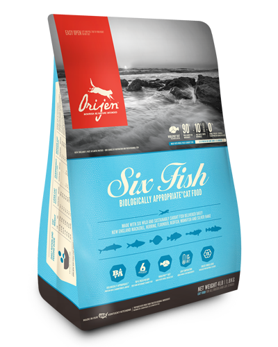 Picture of Orijen Grain Free Six Fish Formula - 4 lbs.