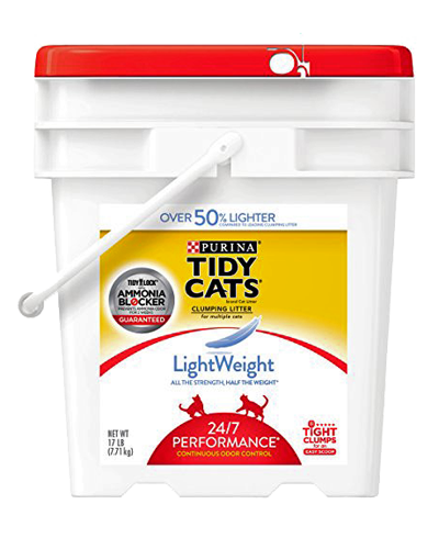 Picture of Purina Tidy Cats Lightweight 24/7 Performance Cat Litter - 17 lb.