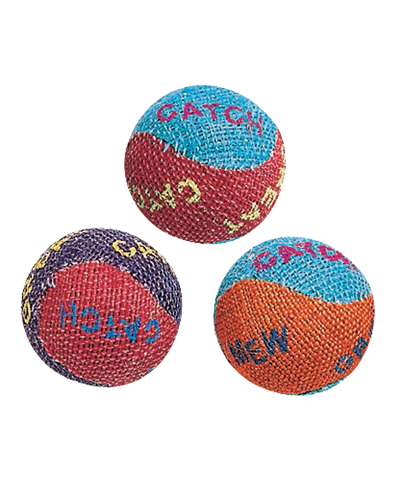 Picture of Ethical Burlap Balls - 3 Pack Assorted Colors