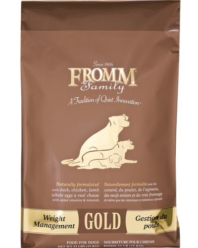 Picture of Fromm Gold Weight Management Formula with Turkey Liver - 33 lb.