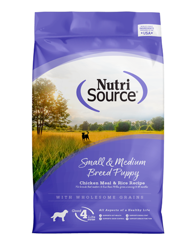 Picture of Nutrisource Small and Medium Breed Puppy Formula - 18 lbs.