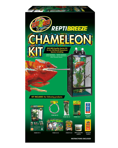 Picture of ZooMed ReptiBreeze Chameleon Kit