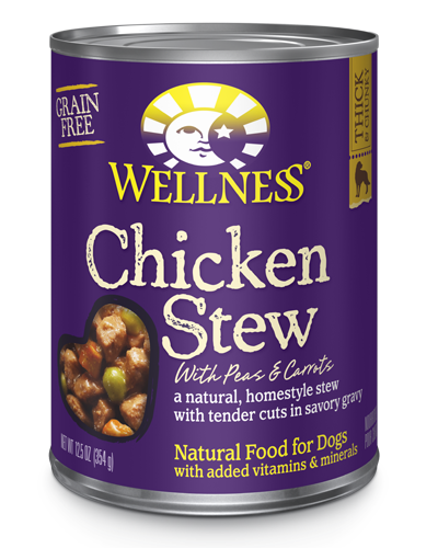 Picture of Wellness Homestyle Stew Grain Free Chicken Stew with Peas & Carrots - 12.5 oz.