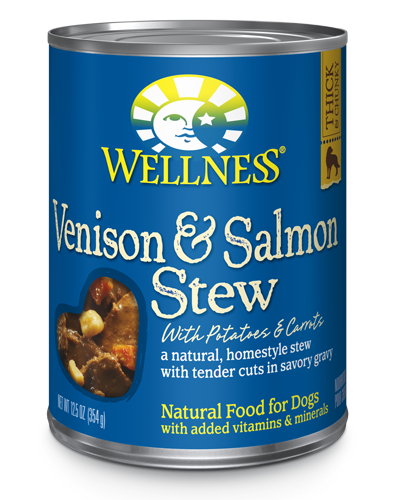 Picture of Wellness Homestyle Stew Venison & Salmon Stew with Potatoes & Carrots - 12.5 oz.