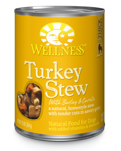 Picture of Wellness Homestyle Stew Turkey Stew with Barley & Carrots - 12.5 oz.