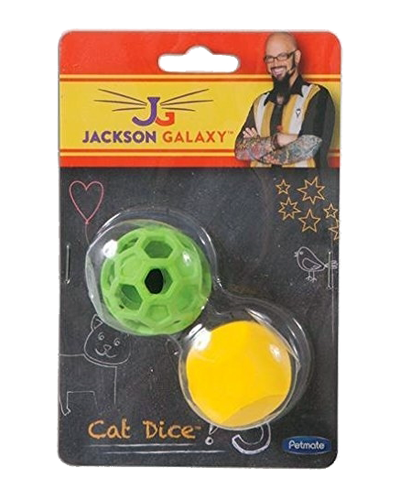 Picture of Jackson Galaxy Hol-ee Roller Dice - 2 Pack