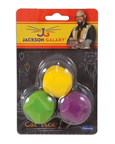 Picture of Jackson Galaxy Dice Toys - 3 Pack