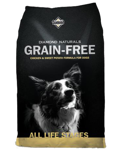 Picture of Diamond Naturals Grain Free All Life Stages Cage-Free Chicken & Sweet Potato - 28 lbs.