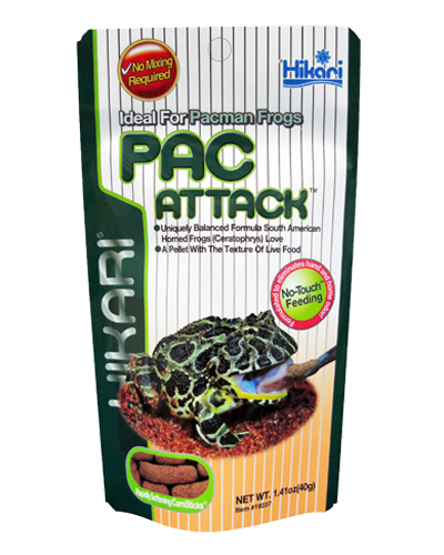 Picture of Hikari Pac Attack Pacman Frog Diet - 1.41 oz.