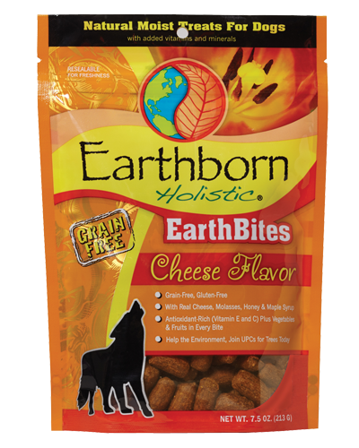 Picture of Earthborn Holistic EarthBites Grain Free Cheese Flavor Treats - 7.5 oz.