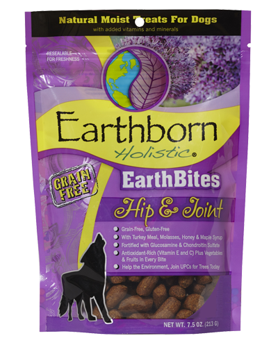 Picture of Earthborn Holistic EarthBites Grain Free Hip & Joint Treats - 7.5 oz.