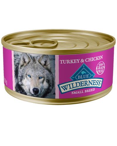 Picture of Blue Buffalo Wilderness Grain Free Turkey and Chicken Grill for Small Breeds - 5.5 oz.