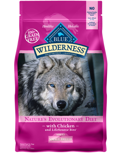 Picture of Blue Buffalo Wilderness Grain Free Chicken for Small Breeds - 4.5 lb.
