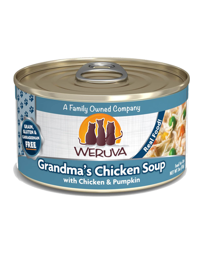 Picture of Weruva Grain Free Grandma's Chicken Soup with Chicken and Pumpkin Recipe - 3 oz.