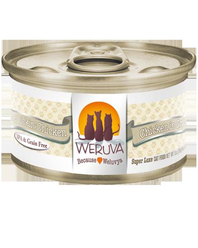 Picture of Weruva Grain Free Paw Lickin' Chicken Recipe with Chicken in Gravy - 3 oz.