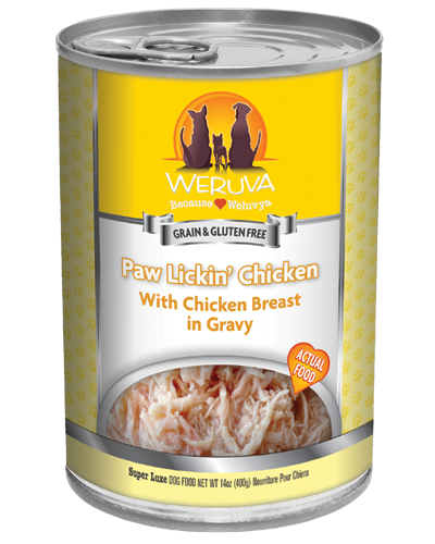 Picture of Weruva Grain Free Paw Lickin' Chicken Recipe with Chicken in Gravy - 14 oz.