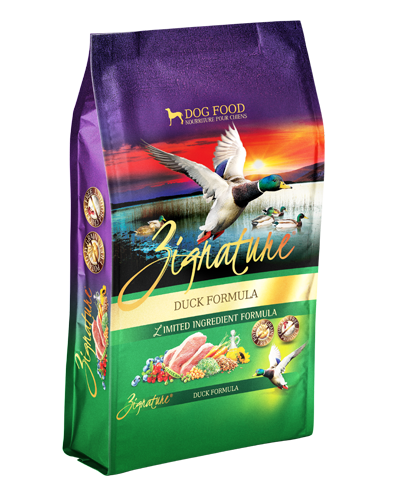 Picture of Zignature Grain Free Limited Ingredient Duck Formula - 4 lbs.