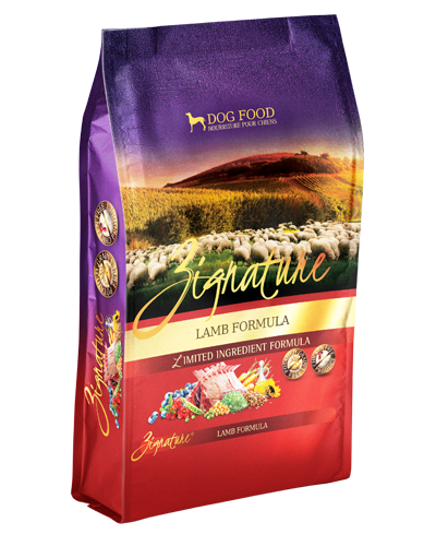 Picture of Zignature Grain Free Limited Ingredient Lamb Formula - 4 lbs.