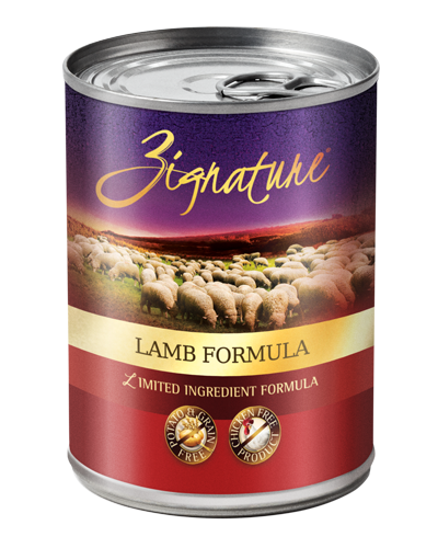 Picture of Zignature Grain Free Limited Ingredient Lamb Formula - 13 oz.