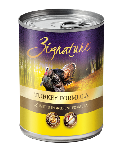 Picture of Zignature Grain Free Limited Ingredient Turkey Formula - 13 oz.