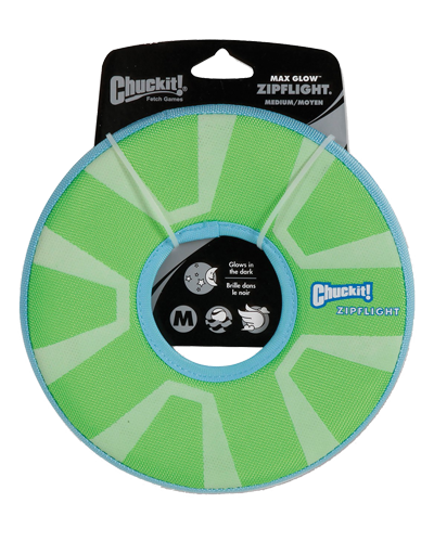 Picture of ChuckIt! Max Glow ZipFlight Frisbee