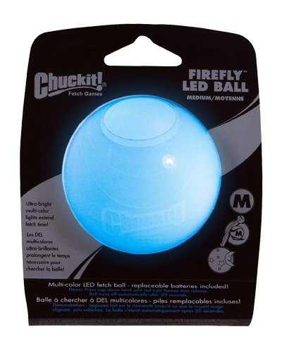 """Picture of ChuckIt! Firefly LED Ball - 4.6"""""""