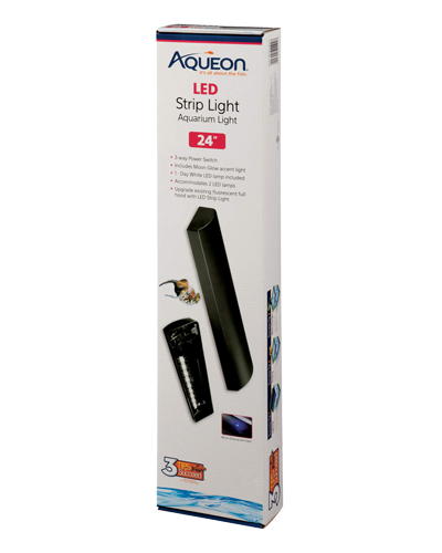 Picture of Aqueon LED Strip Light Black - 24""