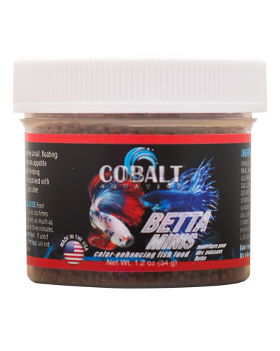 Picture of Cobalt Color Enhancing Betta Minis - 1.2 oz.